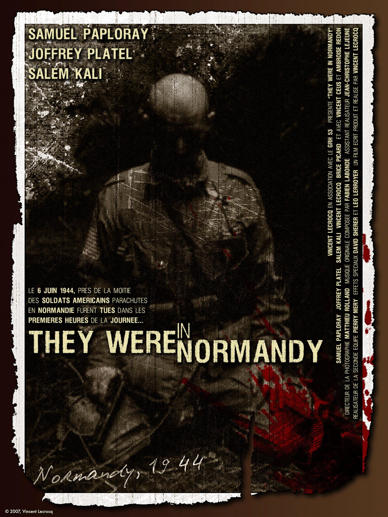They were in Normandy - Official Poster - 2007